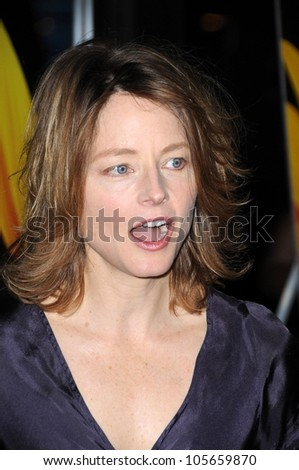 Jodie Foster  at the Los Angeles Screening of 'Phoebe In Wonderland'. Writers Guild Theater, Beverly Hills, CA. 03-01-09