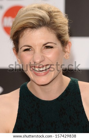 Jodie Whittaker arrives for the Classic Brit Awards 2013 at the Royal Albert Hall, London. 02/10/2013