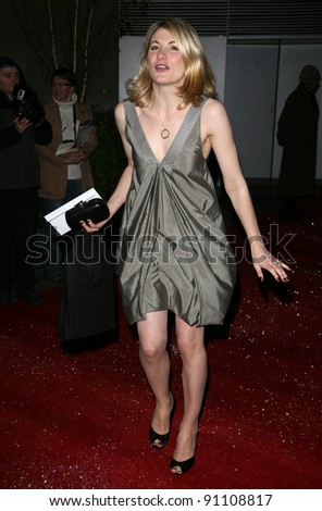 Jodie Whittaker arriving for the English National Ballet Christmas showing of The Nutcracker, at The Coliseum Theatre, London. 14/12/2011 Picture by: Alexandra Glen / Featureflash