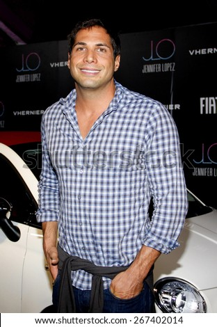 Joe Francis at the Fiat Presents Jennifer Lopez's Official American Music Awards After Party held at the Greystone Manor Supperclub in West Hollywood on November 20, 2011.  - stock photo