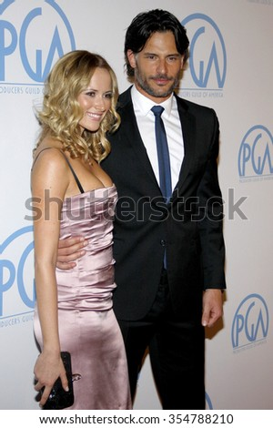 Joe Manganiello at the 22nd Annual Producers Guild Awards held at the Beverly Hilton hotel in Beverly Hills, California, United States on January 22, 2010.  - stock photo