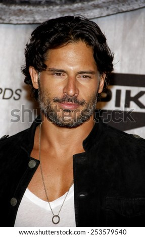 Joe Manganiello at the Spike TV's 2011 Scream Awards held at the Gibson Amphitheatre in Universal City on October 15, 2011. - stock photo