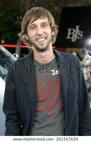 """Joel Moore at the Los Angeles premiere of """"I, Robot"""" held at the Mann Villa Theater in Westwood, USA on July 7, 2004. - stock photo"""