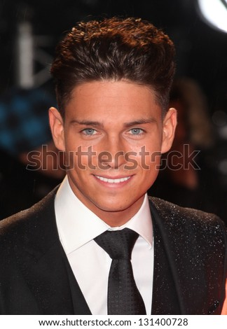 Joey Essex arriving for the 'A Good Day to Die Hard' UK Premiere, Empire Leicester Square, London. 07/02/2013 Picture by: Alexandra Glen - stock photo