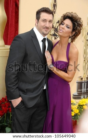 Joey Fatone and Lisa Rinna  at the 81st Annual Academy Awards. Kodak Theatre, Hollywood, CA. 02-22-09