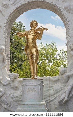 Johann Strauss - stock photo