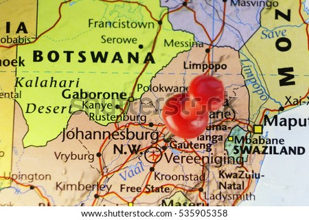 Johannesburg Former Capital City South Africa Stock Photo - What is the capital of south africa