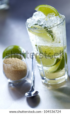 John Collins Mojito - stock photo