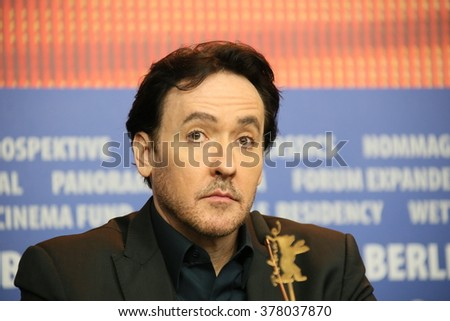 John Cusack attends the 'Chiraq' press conference during the 66th Berlinale International Film Festival Berlin at Grand Hyatt Berlin Hotel, in Berlin, Germany on February 16, 2016. - stock photo