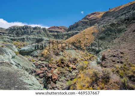 John Day Fossil Beds Nat. Monument, OR