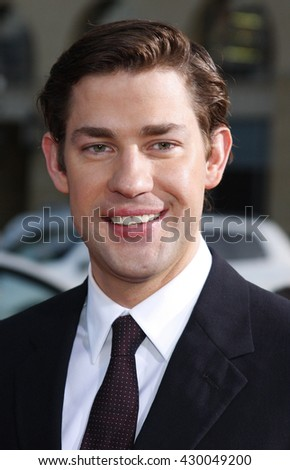 John Krasinski at the World premiere of 'Leatherheads' held at the Grauman's Chinese Theater in Hollywood, USA on March 31, 2008.