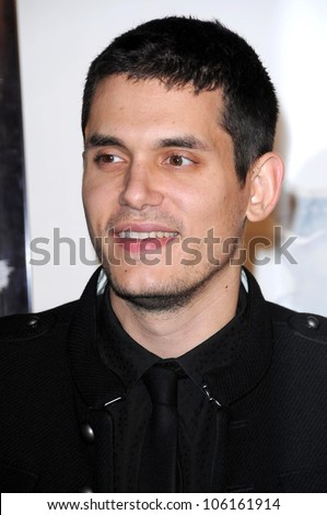John Mayer   at Los Angeles Premiere of 'Marley and Me'. Mann Village Theater, Los Angeles, CA. 12-11-08