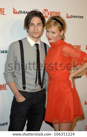 John Patrick Amedori and Brie Larson  at the Premiere Screening of 'United States of Tara'. Directors Guild of America, Los Angeles, CA. 01-12-09 - stock photo