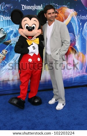 John Stamos at the World Premiere of 'World Of Color,' Disney's California Adventure, Amaheim, CA. 06-10-10