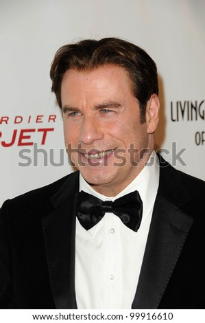 John Travolta at the 8th Annual Living Legends of Aviation, Beverly Hilton Hotel, Beverly Hills, CA. 01-21-11