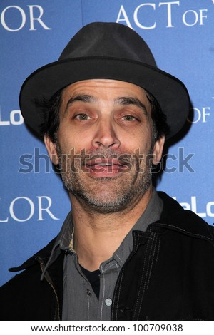 "Johnathon Schaech at the ""Act Of Valor"" Los Angeles Premiere, Arclight, Hollywood, CA 02-13-12"