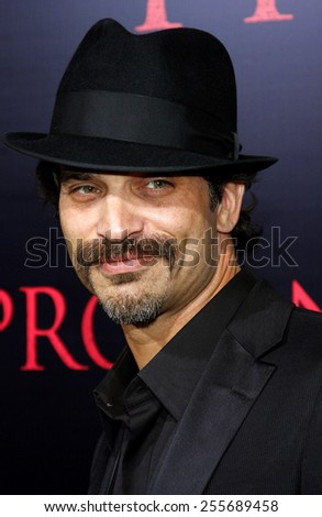 "Johnathon Schaech attends the World Premiere of ""Prom Night"" held at the ArcLight Theater in Hollywood, California, United States on April 9, 2008."