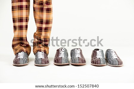 join a bowling game - stock photo