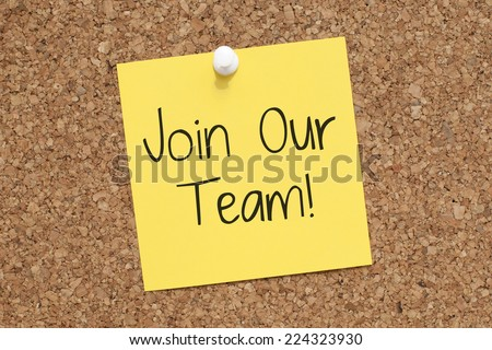 Join Our Team Concept Teamwork - stock photo