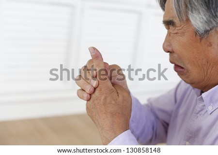 Joint pain - stock photo