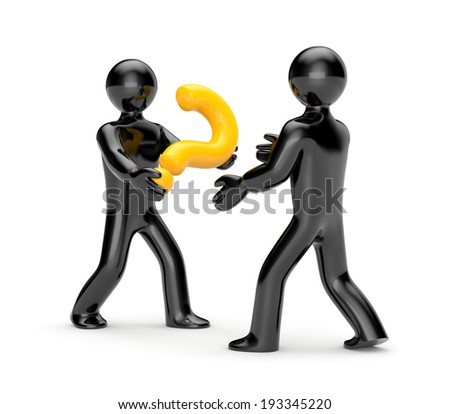 Joint solution - stock photo