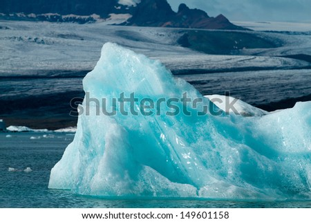 Jokulsarlon Iceland  - stock photo