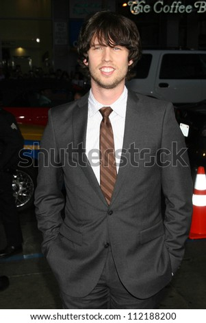"Jon Heder at the Los Angeles Premiere of ""Blades of Glory"". Mann's Chinese Theater, Hollywood, CA. 03-28-07"