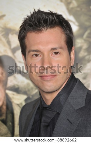 "Jon Seda at the premiere of his new HBO miniseries ""The Pacific"" at Grauman's Chinese Theatre, Hollywood. February 24, 2010  Los Angeles, CA Picture: Paul Smith / Featureflash"