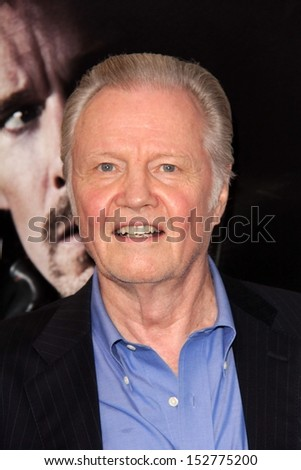 "Jon Voight at the ""The Getaway"" Los Angeles Premiere, Village Theater, Westwood, CA 08-26-13"