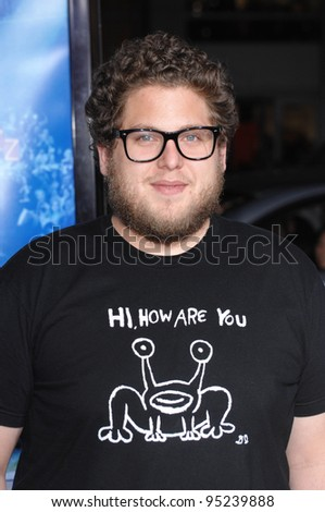 "Jonah Hill at the Los Angeles premiere of ""Blades of Glory"" at the Grauman's Chinese Theatre, Hollywood. March 29, 2007  Los Angeles, CA Picture: Paul Smith / Featureflash - stock photo"