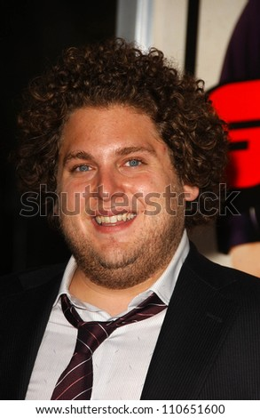 "Jonah Hill at the Los Angeles Premiere of ""Superbad"". Grauman's Chinese Theatre, Hollywood, CA. 08-13-07 - stock photo"
