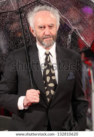 Jonathan Pryce arriving for the G.I. Joe Retaliation 3D, UK premiere at the Empire Leicester Square, London. 18/03/2013 Picture by: Alexandra Glen