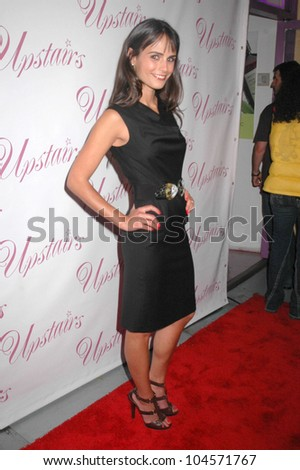 Jordana Brewster  at the Opening of Upstairs Boutique. Upstairs Boutique, West Hollywood, CA. 07-30-09
