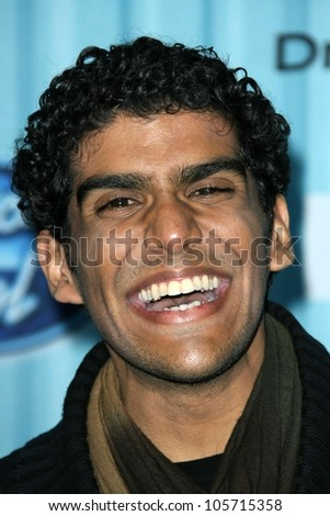 Jorge Nunez at the 'American Idol' Top 12 Party. Area, Los Angeles, CA. 03-05-09