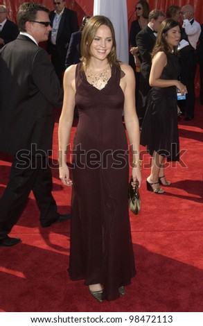 JORJA FOX at the 55th Annual Primetime Emmy Awards in Los Angeles. Sept 21, 2003  Paul Smith / Featureflash