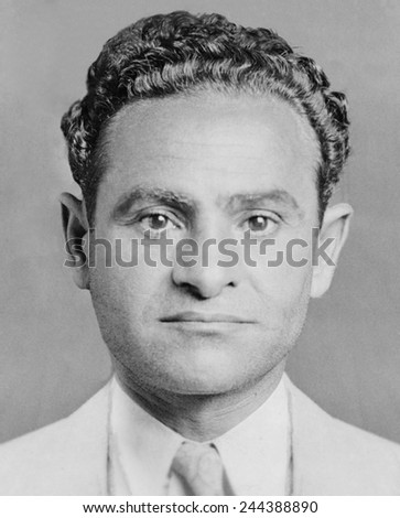 Joseph Amburg (1892-1935), New York labor racketeer during 1920s and 1930s. Joseph worked with his brother Louis, and both brothers were killed by Murder, Inc. September 30, 1935 and October 23, 1935. - stock photo