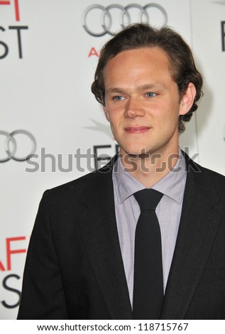 "Joseph Cross at the AFI Fest premiere of his movie ""Lincoln"" at Grauman's Chinese Theatre, Hollywood. November 8, 2012  Los Angeles, CA Picture: Paul Smith"