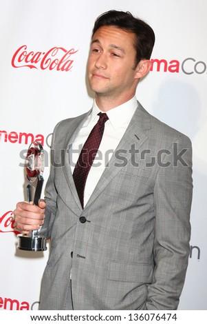 Joseph Gordon-Levitt at the CinemaCon Big Screen Achievement Awards , Caesars Palace, Las Vegas, NV 04-18-13 - stock photo
