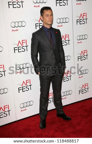 "Joseph Gordon-Levitt at the ""Lincoln"" Closing Night Gala at AFI FEST 2012, Chinese Theater, Hollywood, CA 11-08-12"