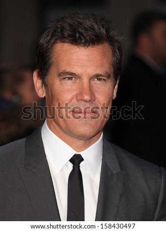 Josh Brolin arriving for the Labor Day Premiere, at the BFI London Film Festival, Odeon Leicester Square, London. 14/10/2013