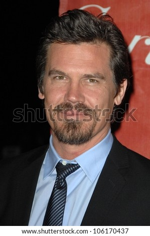Josh Brolin  at the Palm Springs Film Festival Gala. Palm Springs Convention Center, Palm Springs, CA. 01-06-09
