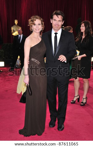 Josh Brolin & Diane Lane at the 80th Annual Academy Awards at the Kodak Theatre, Hollywood, CA. February 24, 2008 Los Angeles, CA Picture: Paul Smith / Featureflash