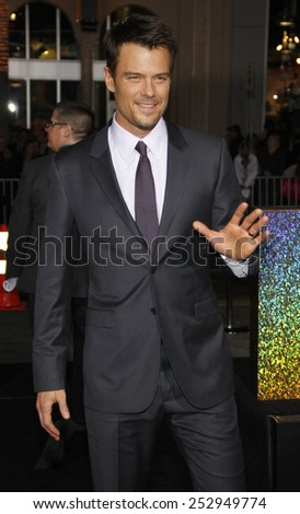 "Josh Duhamel at the Los Angeles Premiere of ""New Year's Eve"" held at the Grauman's Chinese Theater in Los Angeles, California, United States on December 5, 2011.  - stock photo"