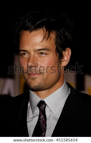 Josh Duhamel at the World premiere of 'When in Rome' held at the El Capitan Theater in Hollywood, USA on January 27, 2010.