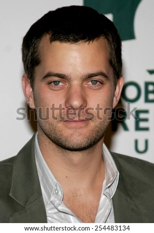 Joshua Jackson attends the Global Green USA Pre-Oscar Celebration to Benefit Global Warming held at the The Avalon in Hollywood, California on February 21, 2007.  - stock photo