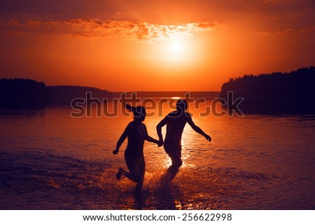 joy of life - stock photo