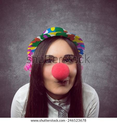 Joyful woman  - stock photo