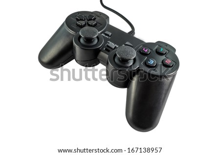 Joystick for playing computer games.