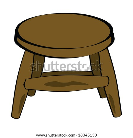 Cartoon Bar Stools Stock Images Royalty Free Images