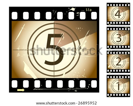 jpeg film countdown...vector in my portfolio